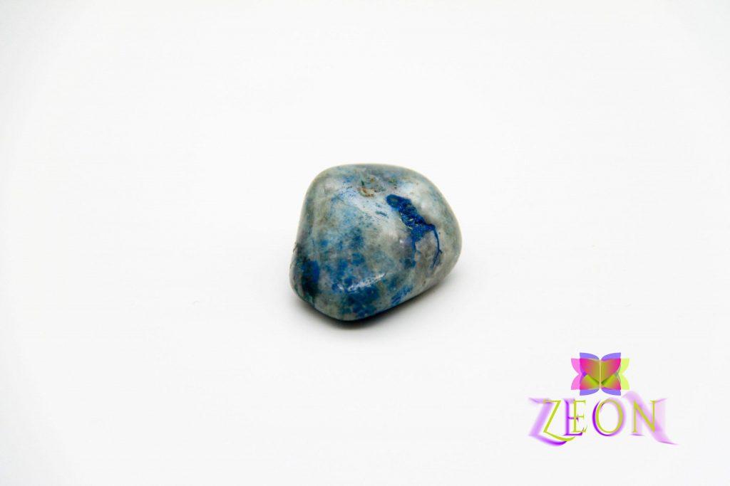 Ajoite in Quartz Stone – Shattuckite – Chrysocolla – Quartz Messina
